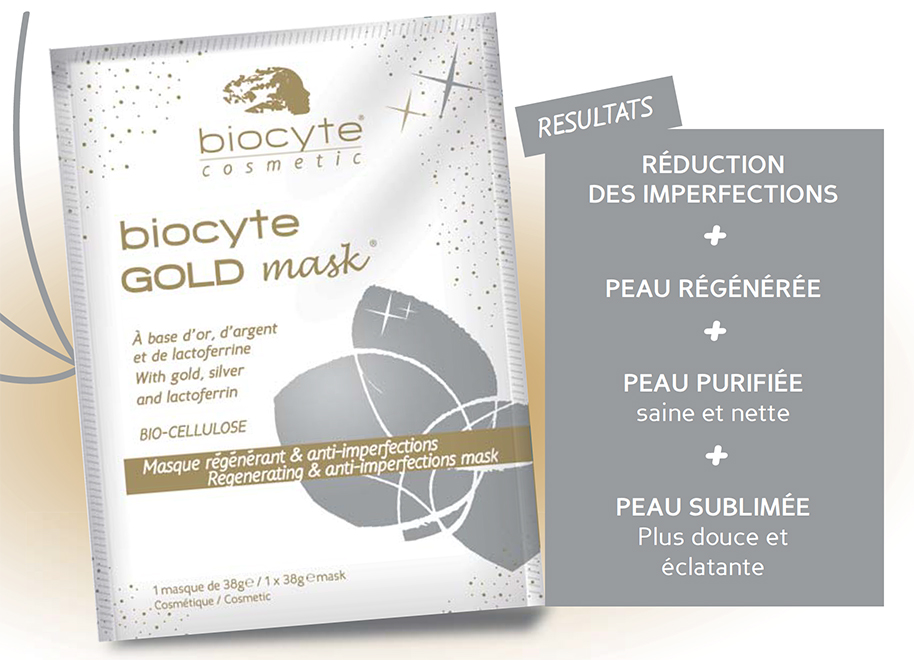 biocyte Gold mask