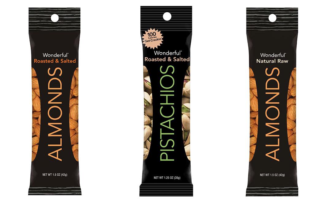 Mini sachets de pistaches
