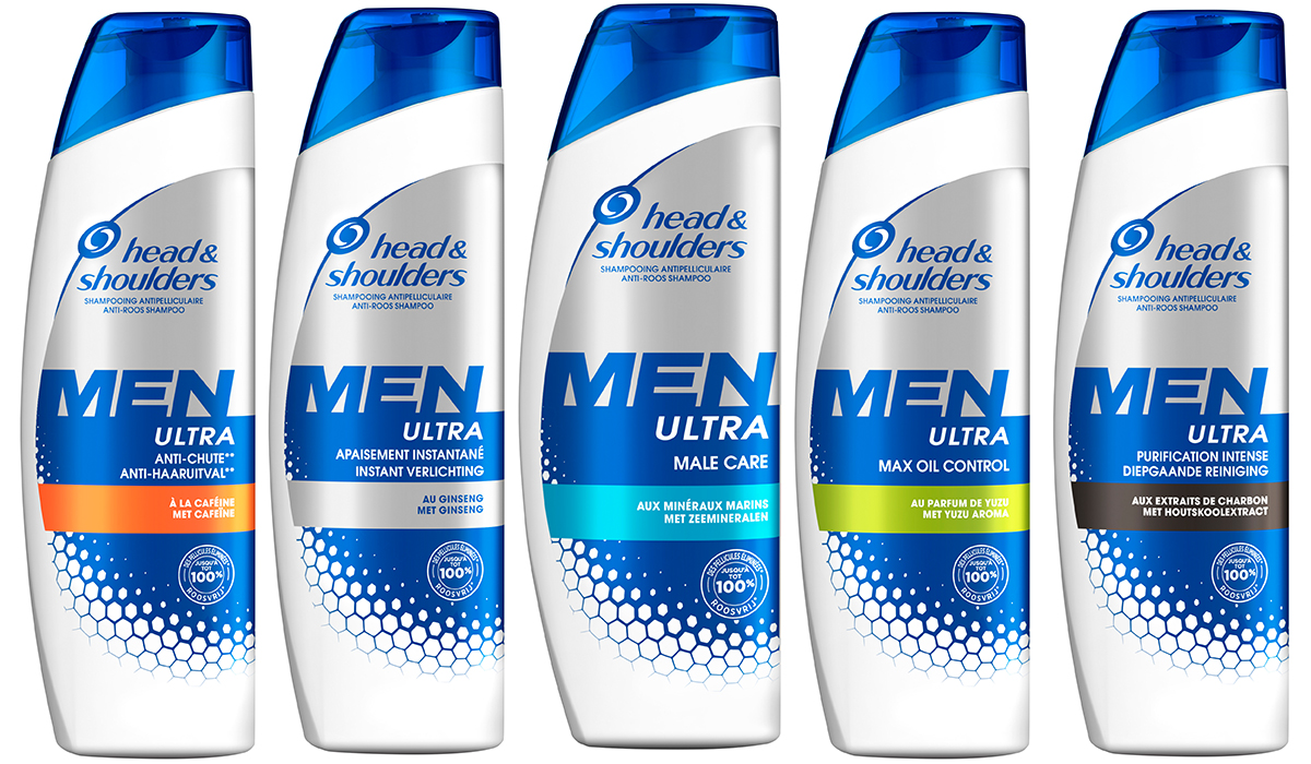 Les shampooings de la gamme Men Ultra head & shoulder