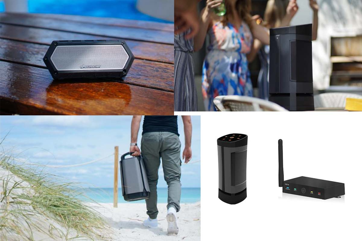 Les enceintes Bluetooth outdoor Soundcast