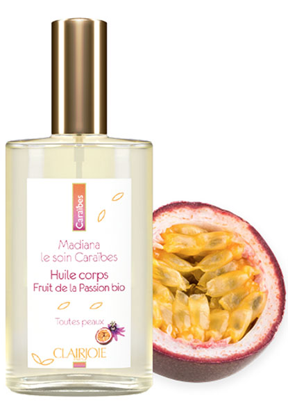 L'huile fruit de la passion bio