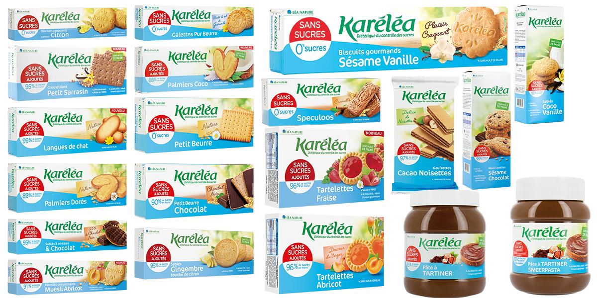 Produits Karéléa sans sucres