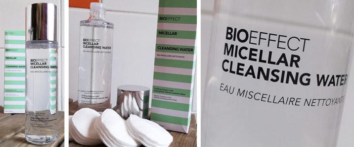 BioEffect lance une gamme nettoyante composée de l'Eau Micellaire Nettoyante et du Brumisateur d'Eau OSA.