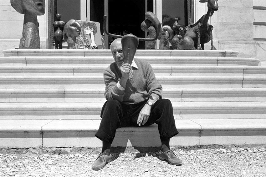 Pablo Picasso -Villa La Californie, Cannes - 1950