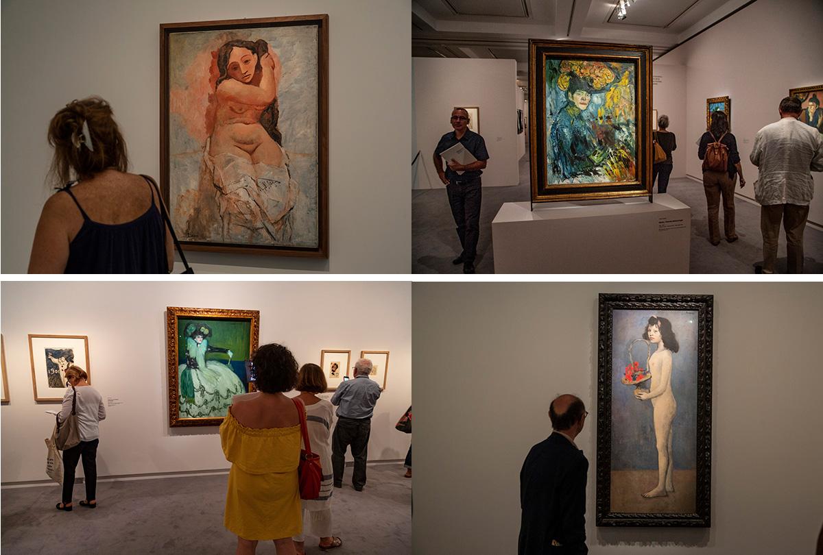 Picasso-Femme au peigne, Paris 1907
