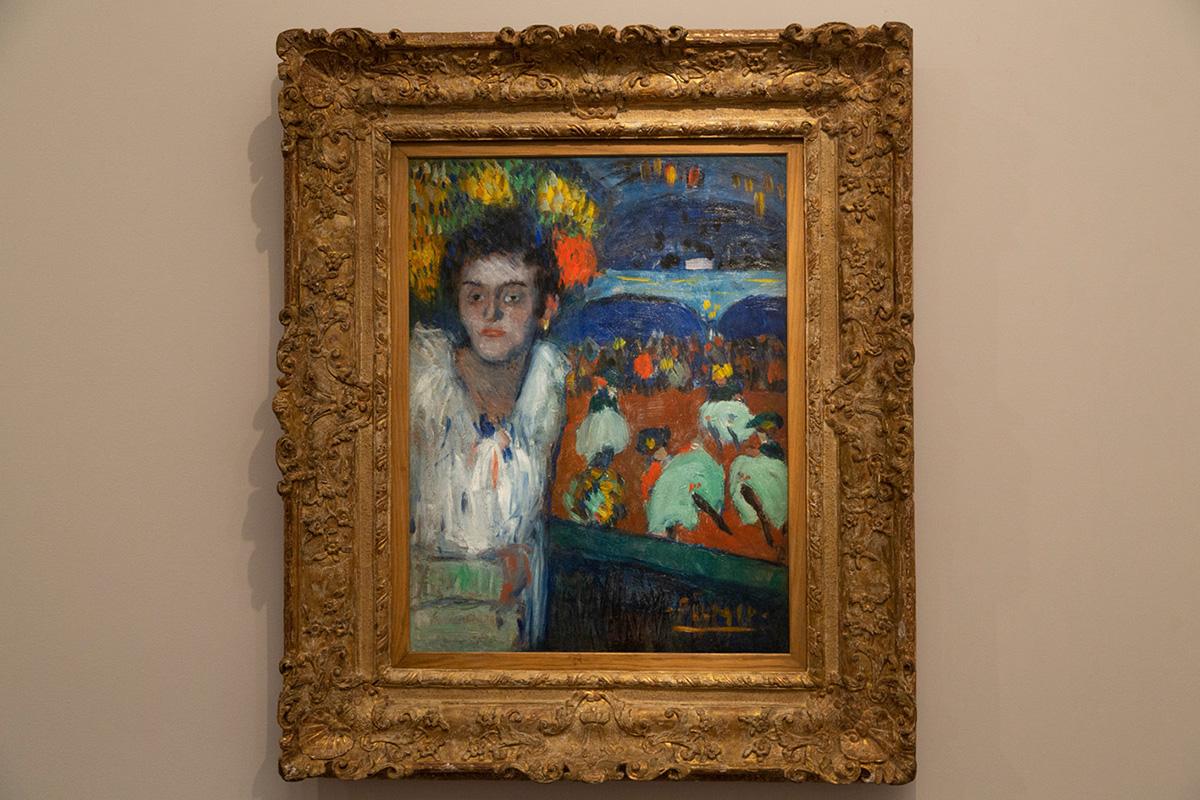 Picasso-Au Moulin Rouge (Le Divan Japonais) Paris 1901