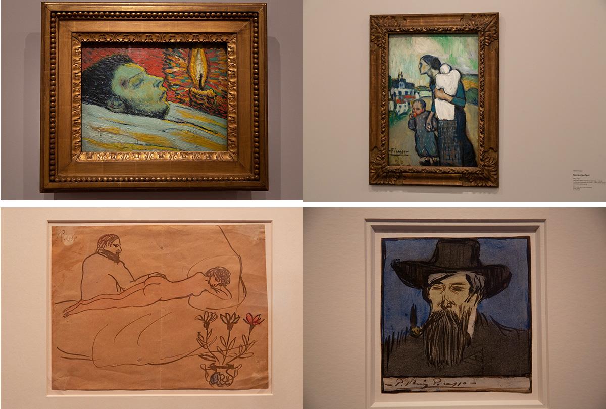 Picasso-Mort de Casagnemas, Paris été 1901