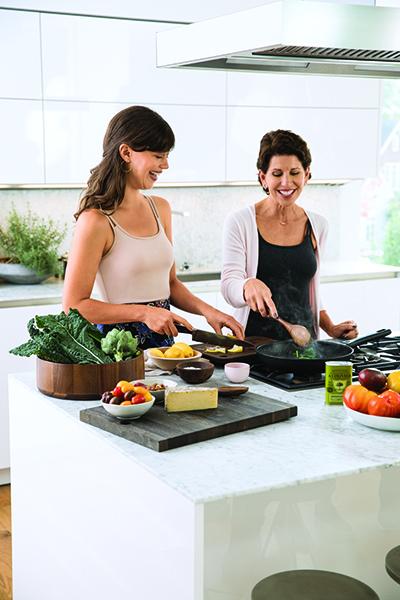Femmes en cuisine