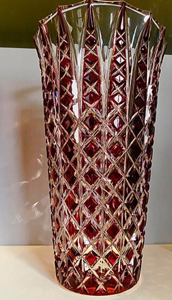 Vase de la Manufacture St Louis
