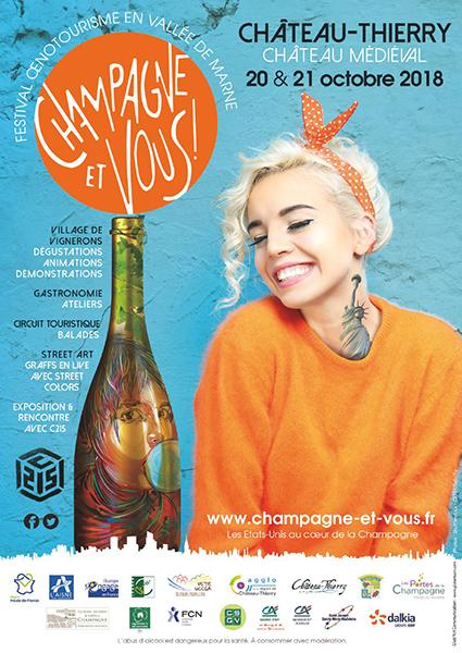 """Festival oenotourisme """"Champagne et Vous"""""""