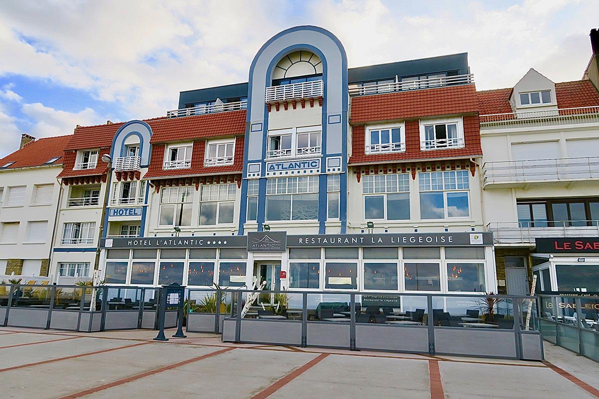 Hôtel l'Atlantic à Wimereux