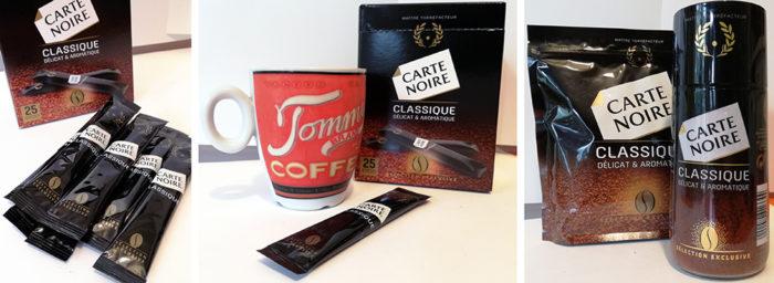 Carte Noire vient de lancer sur le marché une toute nouvelle gamme de café soluble Carte Noire Classique en bocal ou en sticks.