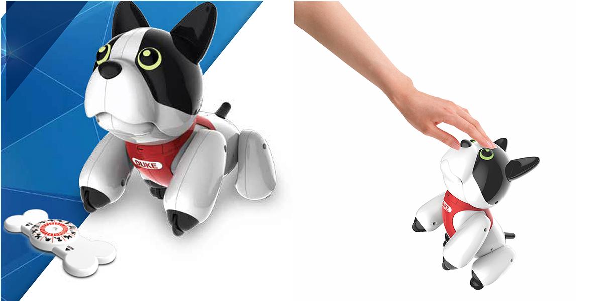 DUKE :Le chien personnalisable et à fonctionsmultiples