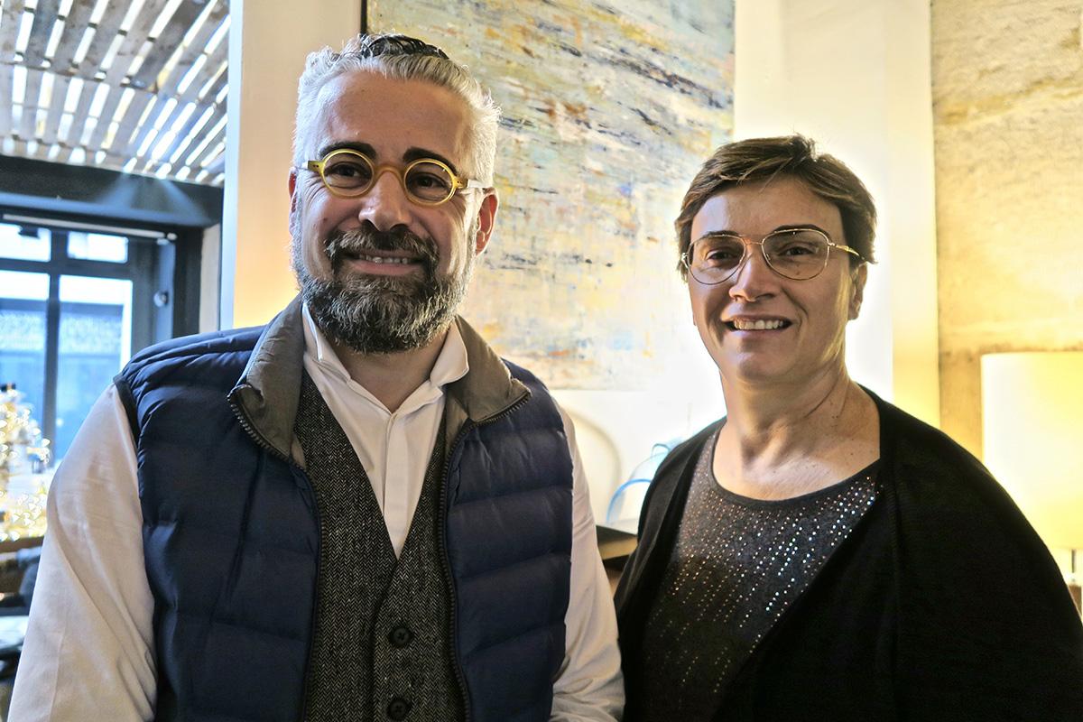 Emmanuel Pierre et Virginie Roux