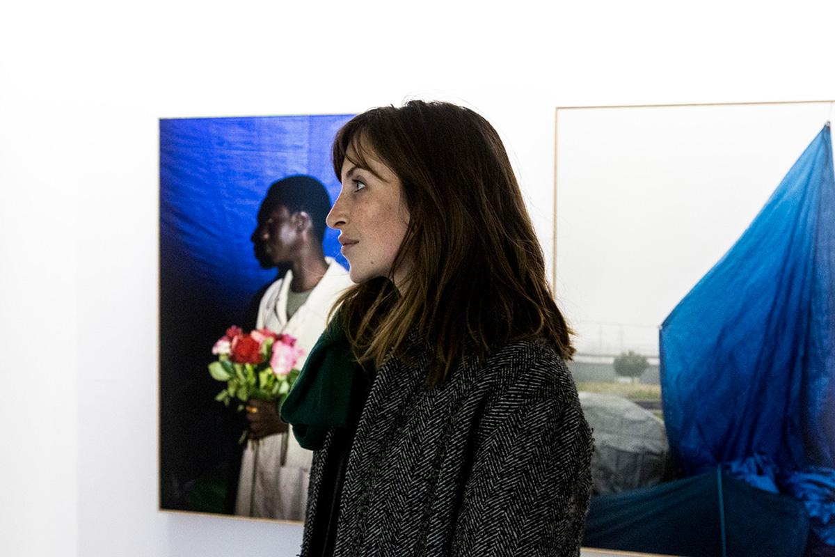 Lucie Boiron a réalisé un travail remarquable, digne, humain auprès des réfugiés à Paris.