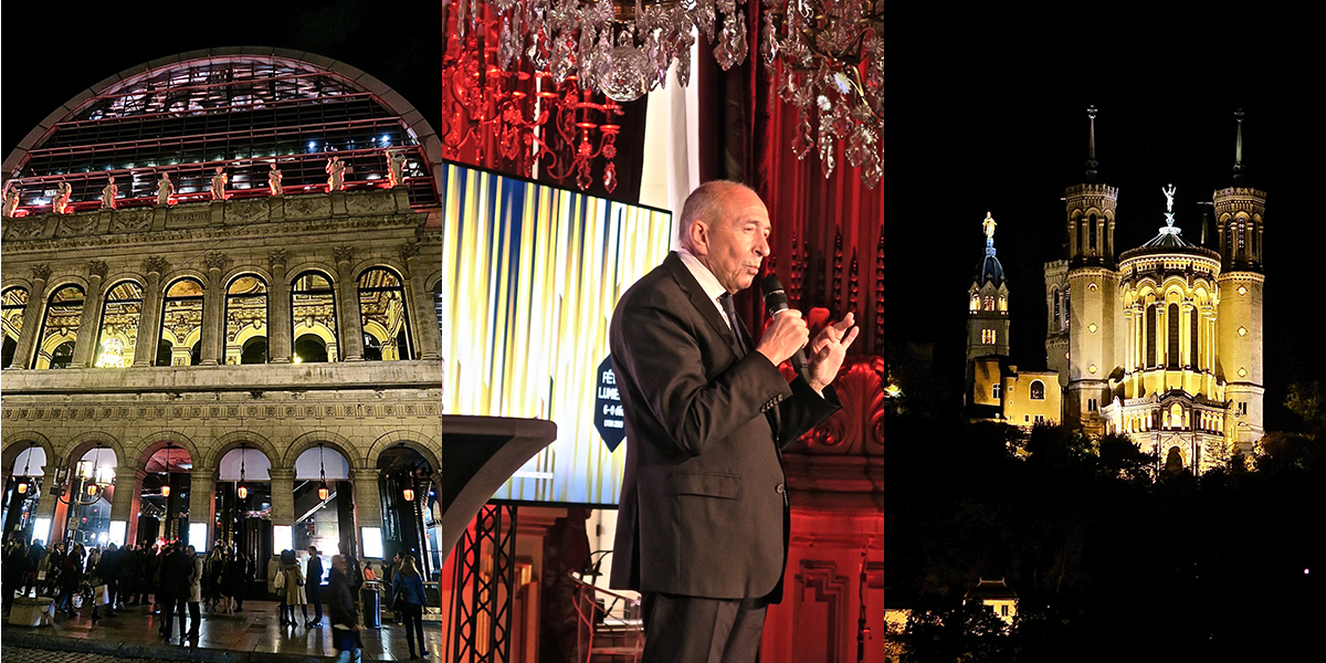 Gérard Collomb maire de Lyon