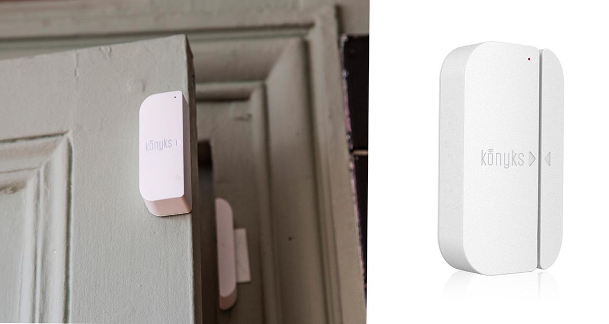 Le détecteur d'ouverture de porte a plusieurs fonctions très utiles.