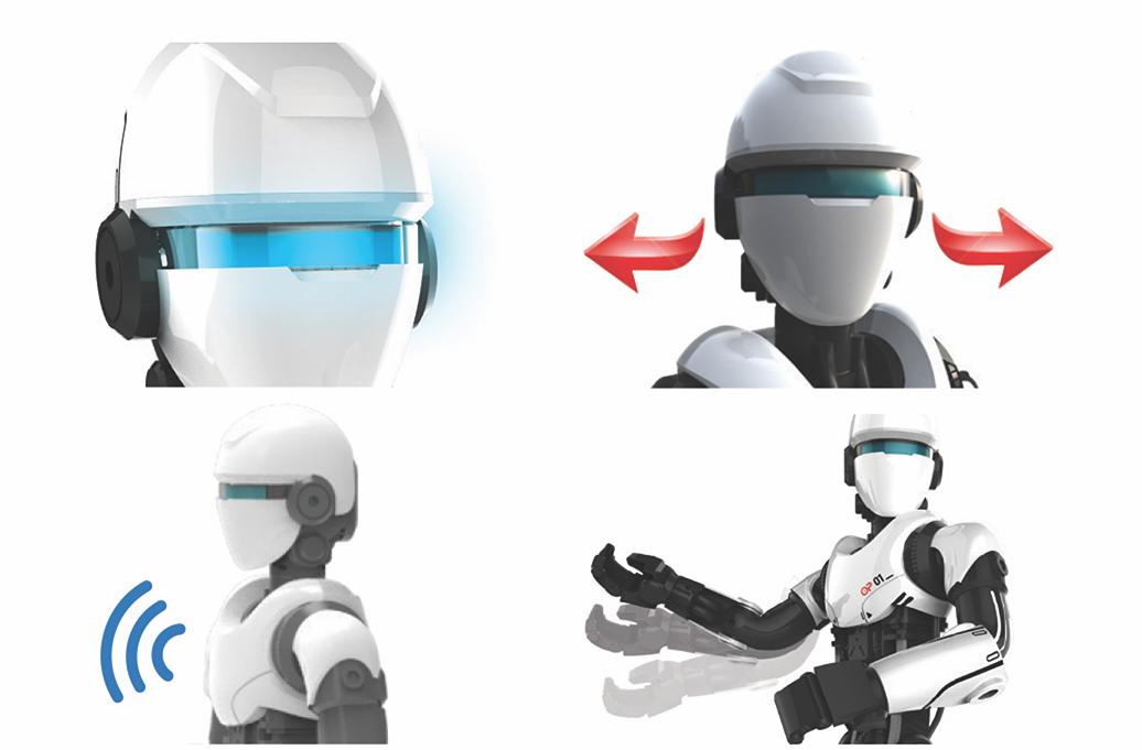O.P ONE :Un concentré de technologie pour un robotnouvelle génération