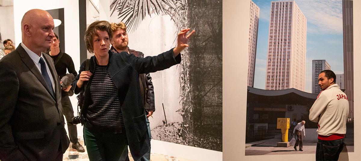Paulien Oltheten, commente ses images à Christophe Girard