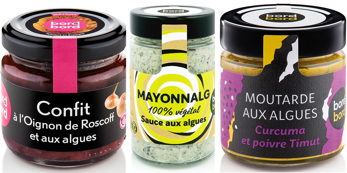 Mayonnaise, Confit et moutarde.