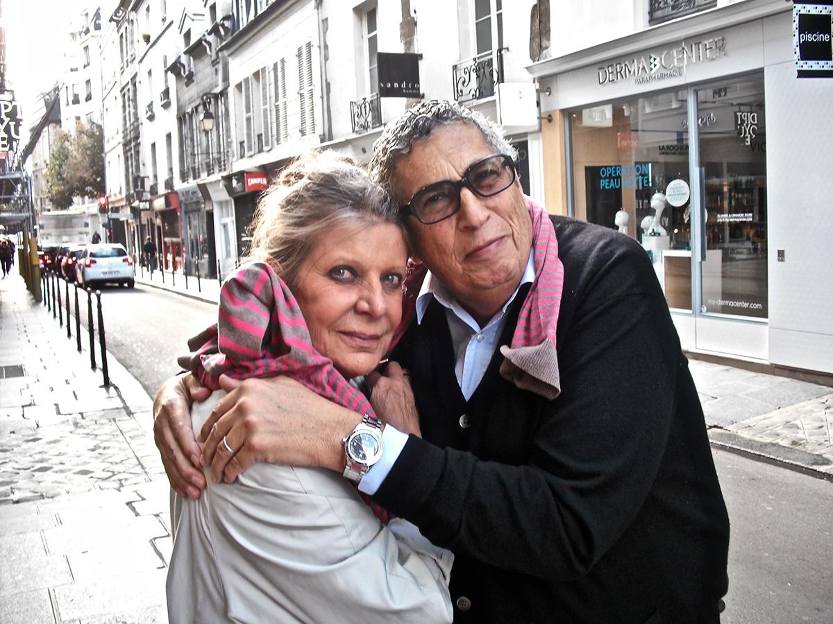 Serge Bensimon et Frédérique Lebel