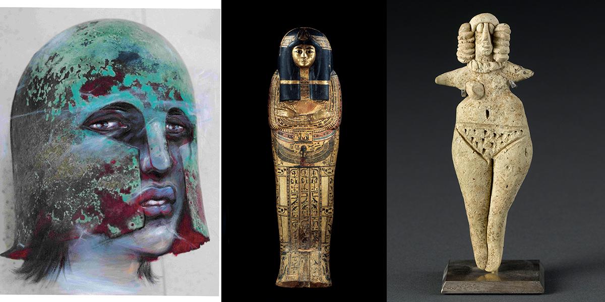 Enki Bilal, Hecube, Les fantômes du Louvre