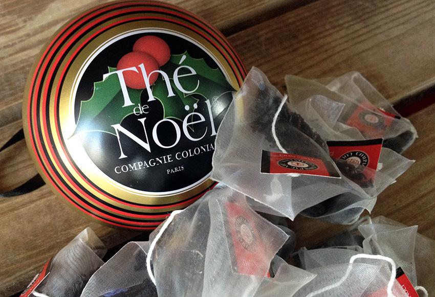 Boule Thé de Noël