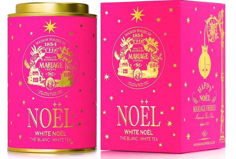 White Noël : Thé blanc festif étoilé d'Or et d'Argent