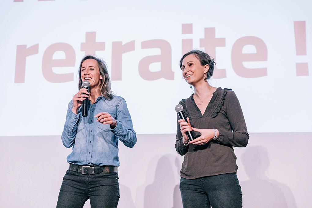 Anne-Laure Mesguen et Amélie Arcile