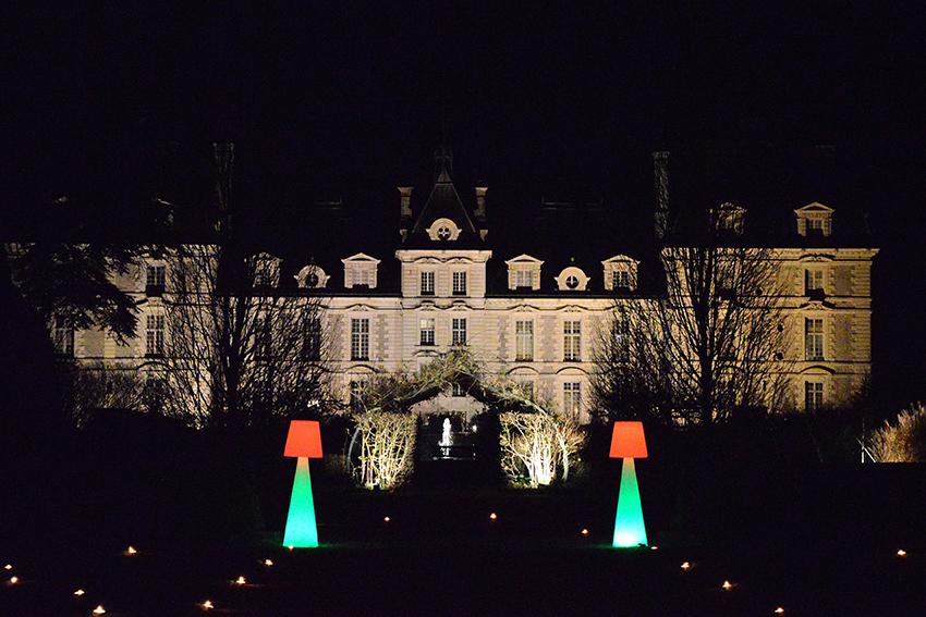 Château de Cherverny la nuit