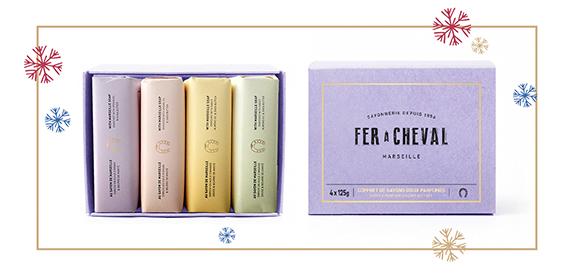 Le coffret de 4 délices parfumés