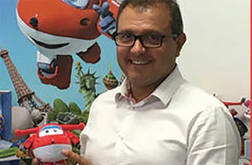 Didier Carreras,directeur générald'Alpha Group France
