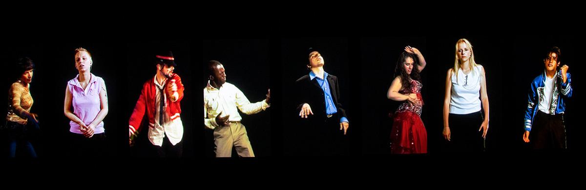 On peut être fan de Mickael Jackson et savoir chanter et danser, comme lui… ou presque! Un superbe portrait de Candice Breitz