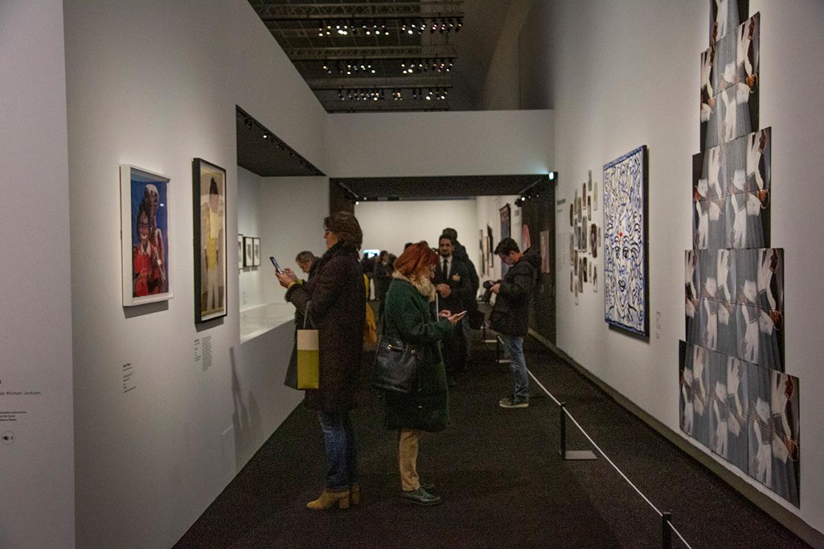 121 œuvres sont présentées dans cette exposition qui se termine le 14février 2019.