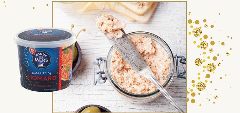 Rillettes de homard à l'armoricaine MSC