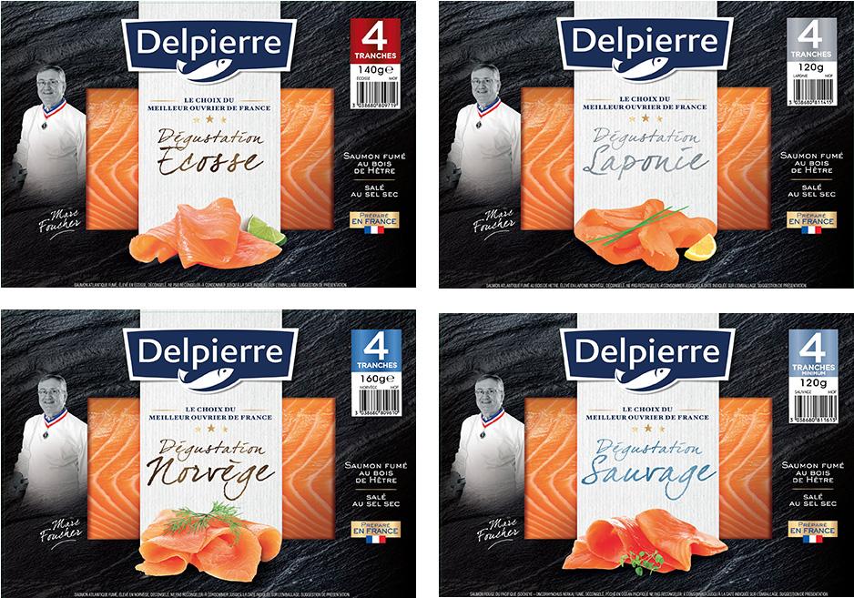 Saumons Delpierre