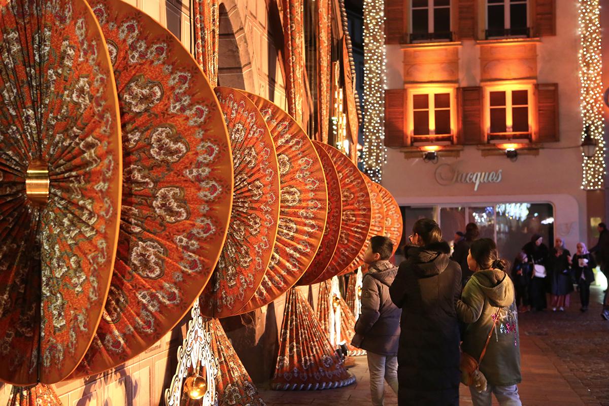 Tissus de Noël de Mulhouse