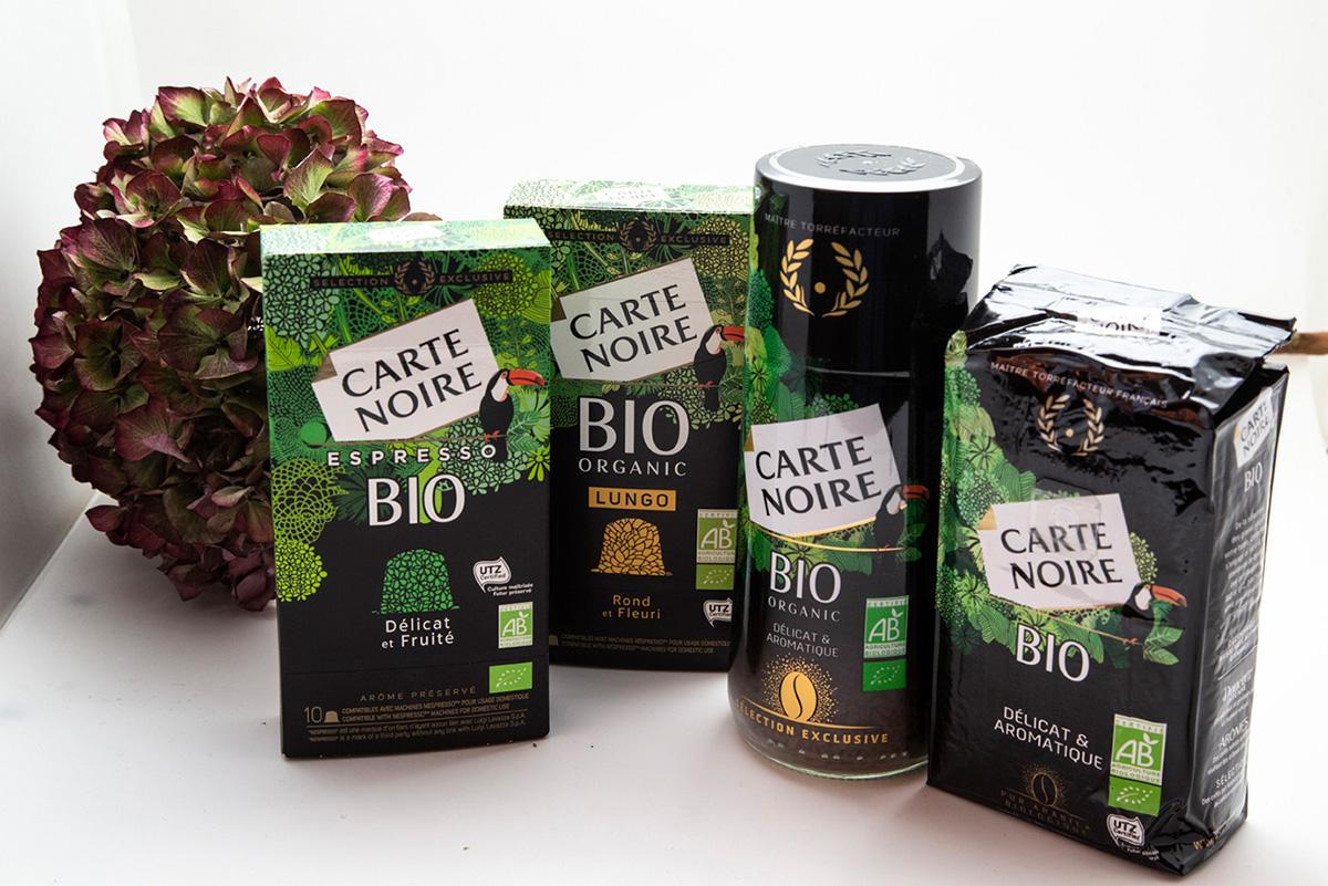 Café Carte Noire gamme