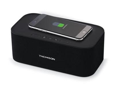 L'enceinte sans-fil avec chargeur à induction Thomson WS06IPB