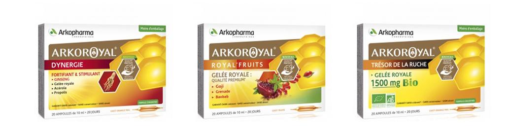 Gamme Arkopharma