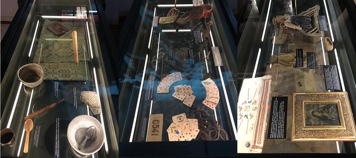 Objets du musée de Katyn