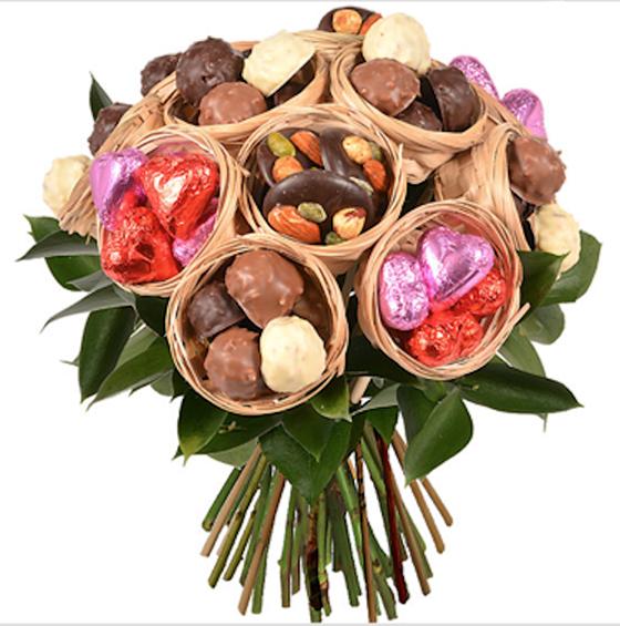 Le bouquet de chocolats