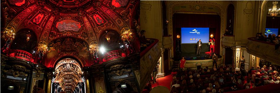 Le théâtre à l'italienne, classé à l'inventaire des Monuments historiques