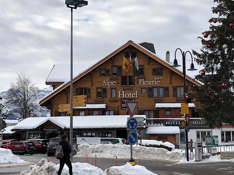 Hôtel Alpe Fleurie de Villars-sur-Ollon