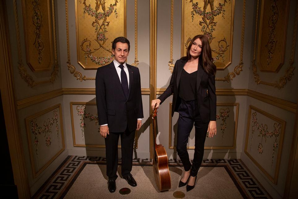 Carla Bruni a rejoint son mari Nicolas Sarkosy.