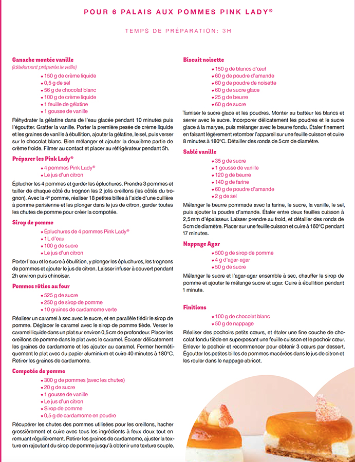 Recette Pink Lady