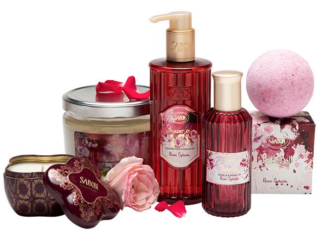 Collection Rose splash