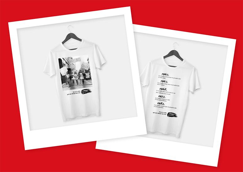 Tee-shirts Grand-Mères