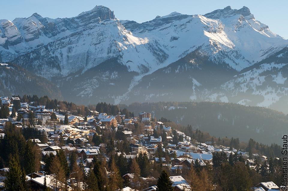 Villars-sur-Ollon en hiver