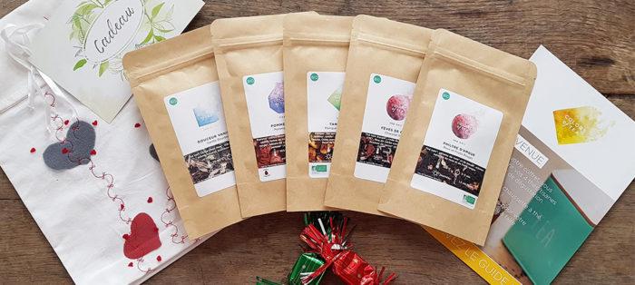 Pour fêter la Saint-Valentin, Colors of Tea a concocté le Philtre d'amour.